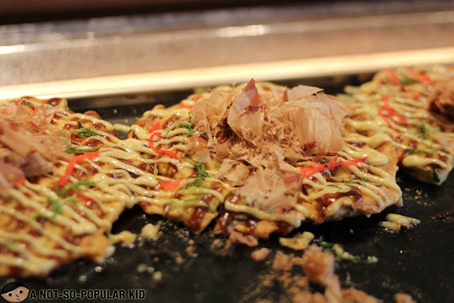Okonomiyaki of Nobu Restaurant