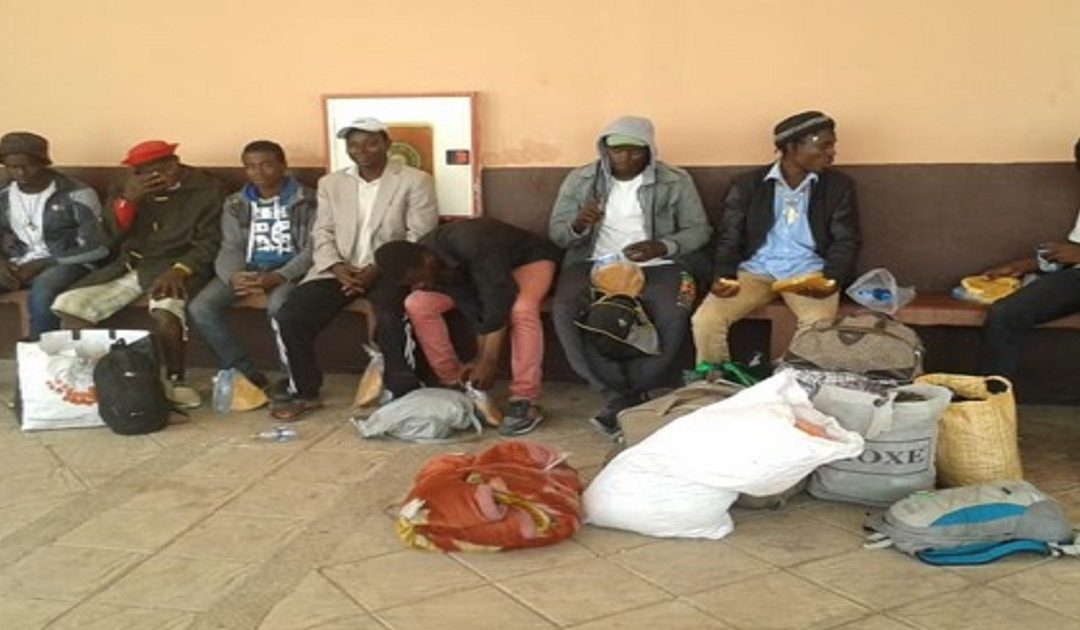 انشار مرض خطير بين المهاجرين الأفارقة المقيمين بمخيم ولاد زيان