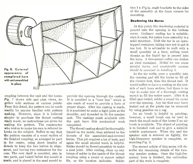 Two-Way Speaker System Part 1 - 1947