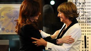 Cristina Kirhner pone en funciones a Gils Carbó como nueva procuradora en el 2007. DYN