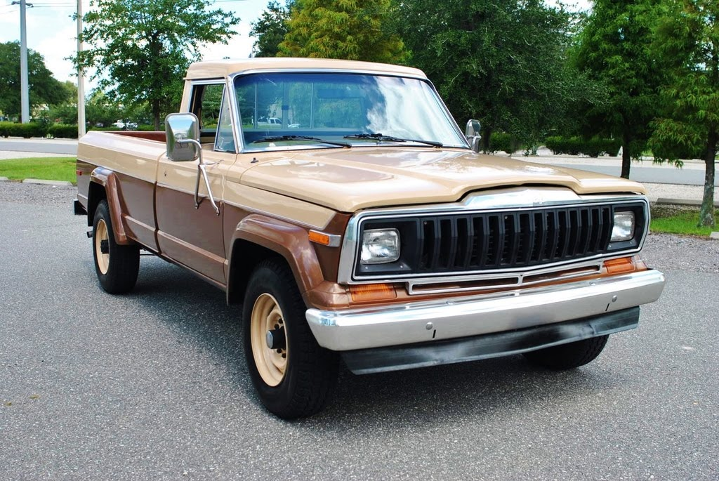 1981 Jeep J20 4x4 Pickup Truck With Only 27,000 Original Miles
