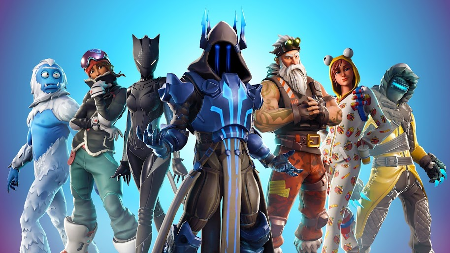 Fortnite Battle Royale Season 7 Outfits 4k 3840x2160