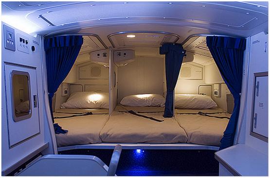 Jom Lihat Bilik Tidur Crew Kapal Terbang Dalam Pesawat
