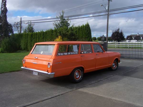 1962 Nova Station Wagon For Sale Buy American Muscle Car