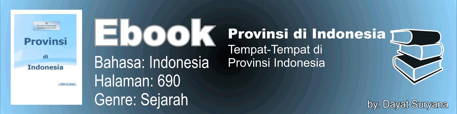 Buku Provinsi-Provinsi Di Indonesia