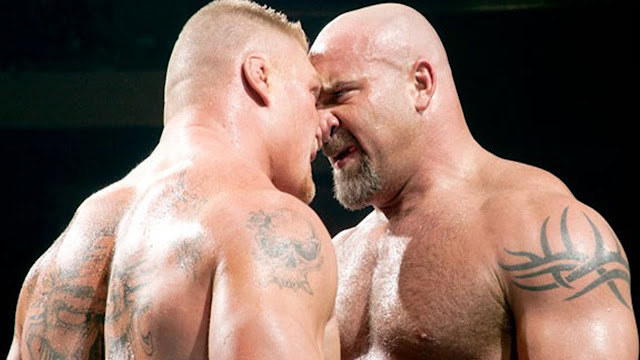 Goldberg vs Brock Lesnar Survivor Series 2016