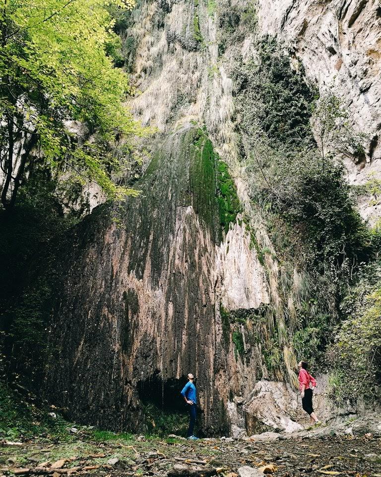 Valle delle Ferriere ūdenskritumi