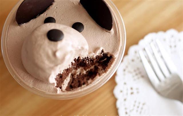 Bánh kem hình gấu
