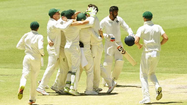 Australia won 1 Test match on Tuesday