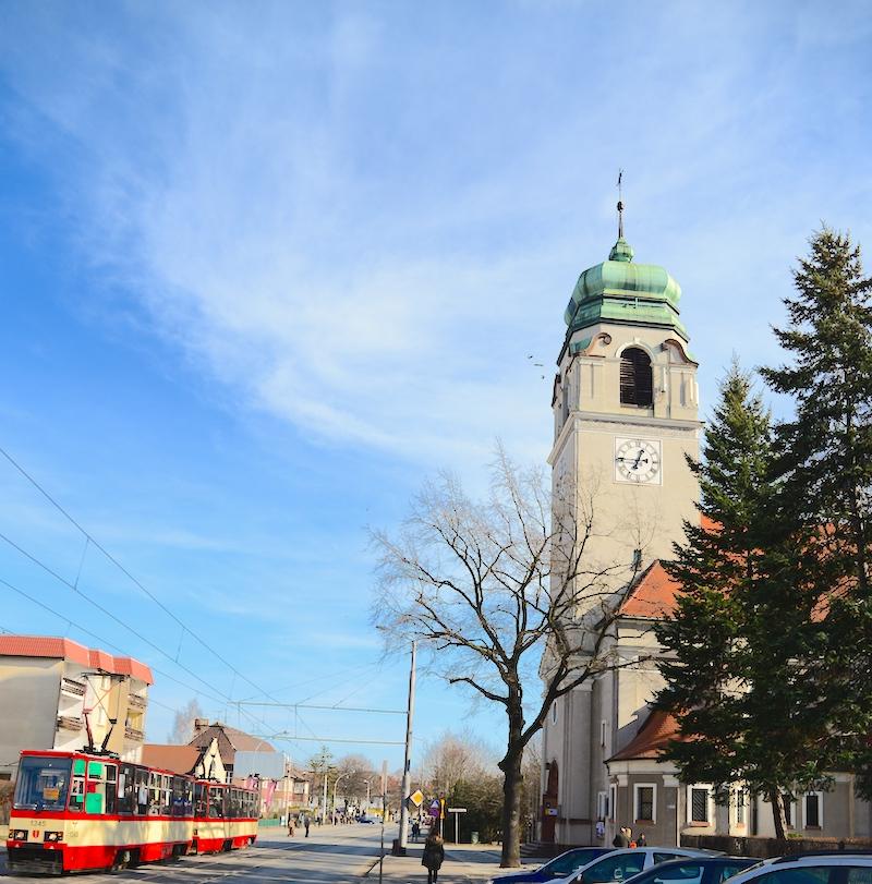 Gdańsk Wrzeszcz, kościół św. Andrzeja Boboli