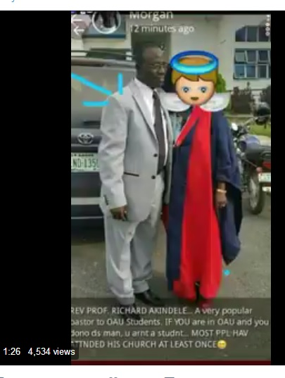 EDUCATION LEAKED: Recorded Phone-call Between Popular OAU Professor/Pastor, Richard Akindele & A Female Student – Naija Virals