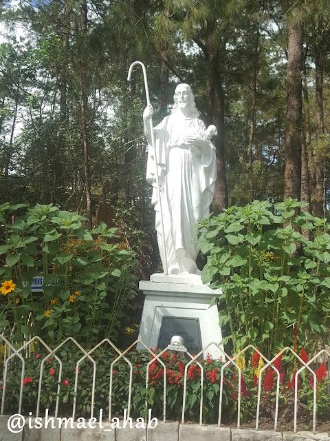 Jesus in Good Shepherd Convent Baguio