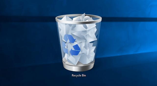 Cara Mengembalikan Data Yang Terhapus Pada Recycle Bin