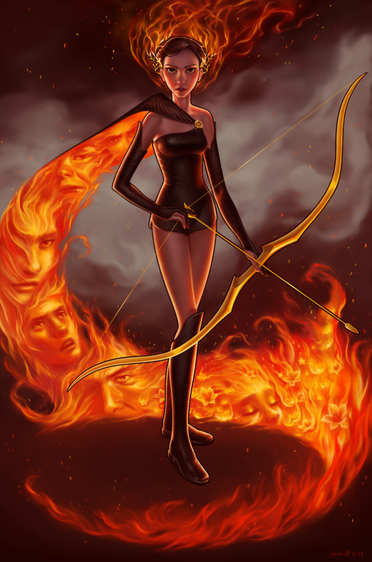 Fashion And Action The Hunger Games Katniss Everdeen Fan Art Gallery