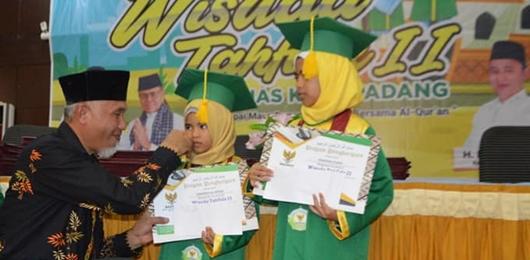 Wako Mahyeldi Terus Suport Pengembangan Penghafal Quran di Padang
