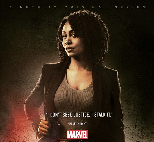Misty Knight - Luke Cage