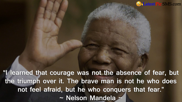 nelson mandela Best Thoght - SMS of The Day in English with Pictures for Whatsapp & Facebook