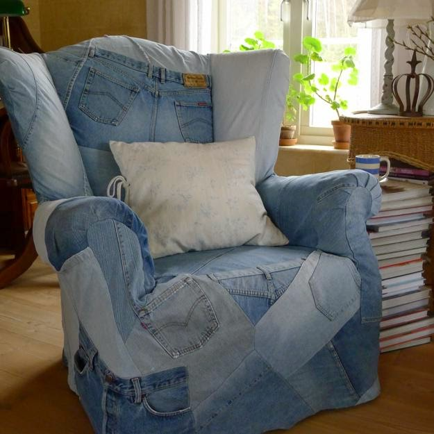 How To Recycle Recycled Crafts From Old Denims Jeans And