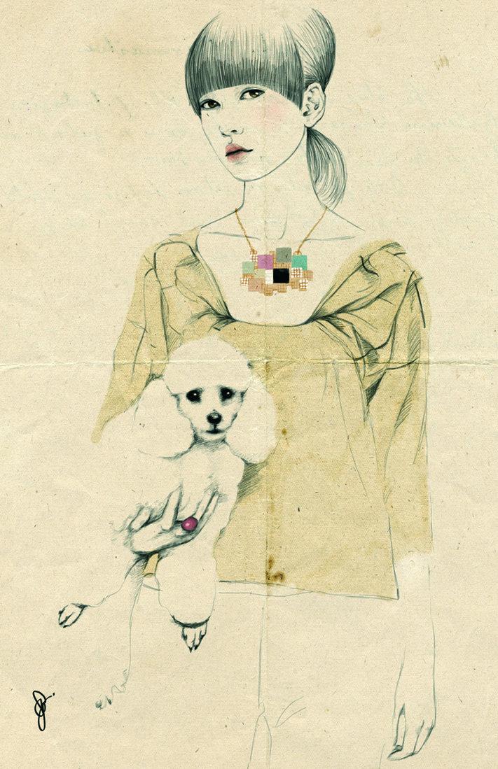 Sandra Suy, la elegancia en la ilustración  (2/3)