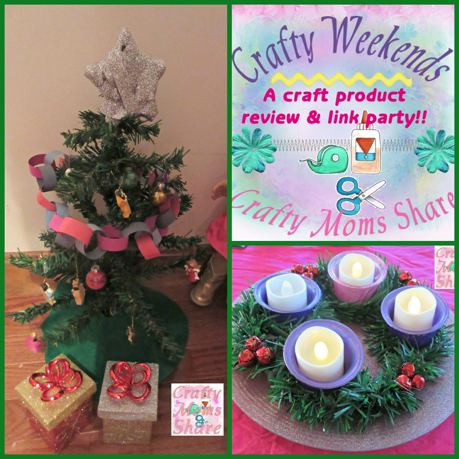 dollar tree christmas crafts including cheap doll finds a crafty weekends post and link party - Dollar Tree Christmas Tree