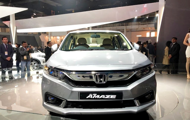 All New-Gen 2018 Honda Amaze front show