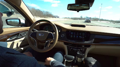Cadillac Drives Coast-to-Coast With Hands-Free Technology