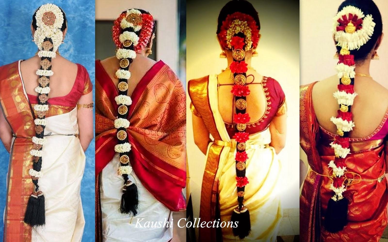 Sparkling Fashion: South Indian bridal hair accessories ...