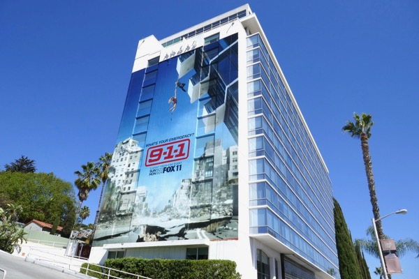 Giant 911 season 2 billboard
