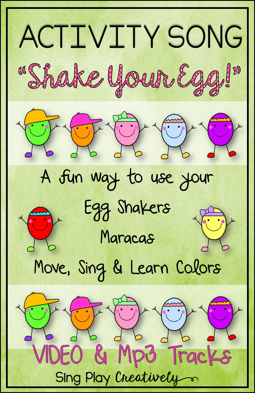 MUSIC CLASS EGG SHAKER ACTIVITIES -