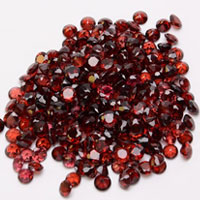 Natural Garnet Red Gemstone