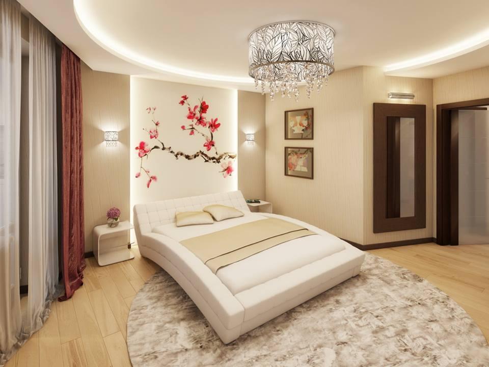 15 Stylish Master Bedroom Wallpaper Designs