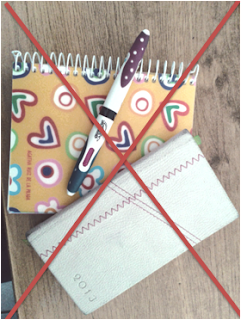 cuaderno y agenda