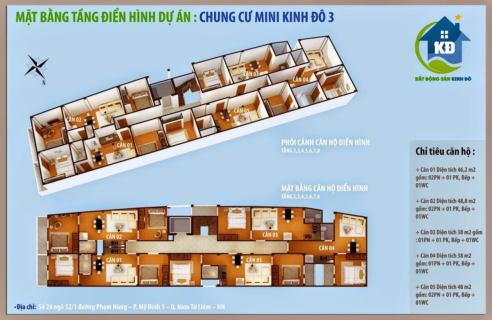 thiết kế chung cư mini mỹ đình - đình thôn