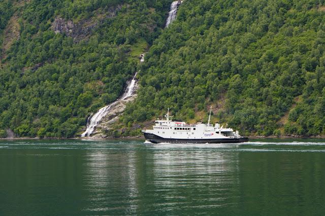 Crociera da Geiranger sul Geirangerfjord