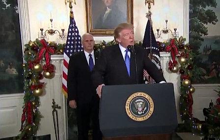 Trump reconoce Jerusalén como capital de Israel y provoca rechazo en el mundo árabe y musulmán