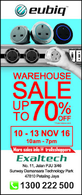 Eubiq Warehouse Sale 2016