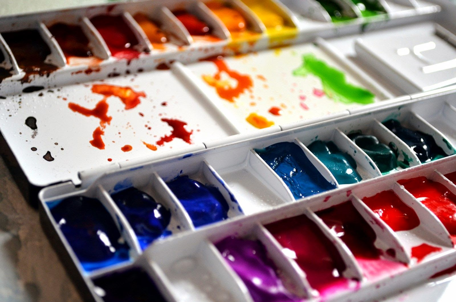 Watercolors By Krzysztof Kowalski How Watercolor Behaves