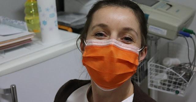 Image: Nurse Wearing Surgical Mask, by Vesna Harni on Pixabay