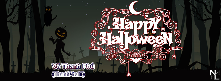 Share 3 PSD Ảnh Bìa Halloween Part 2