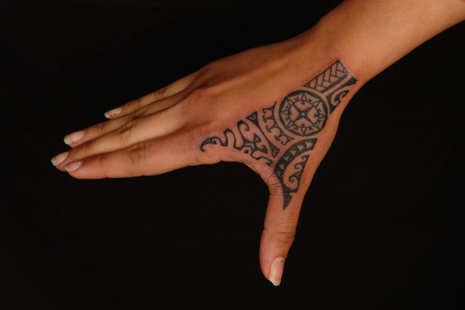 Maori Hand Tattoo