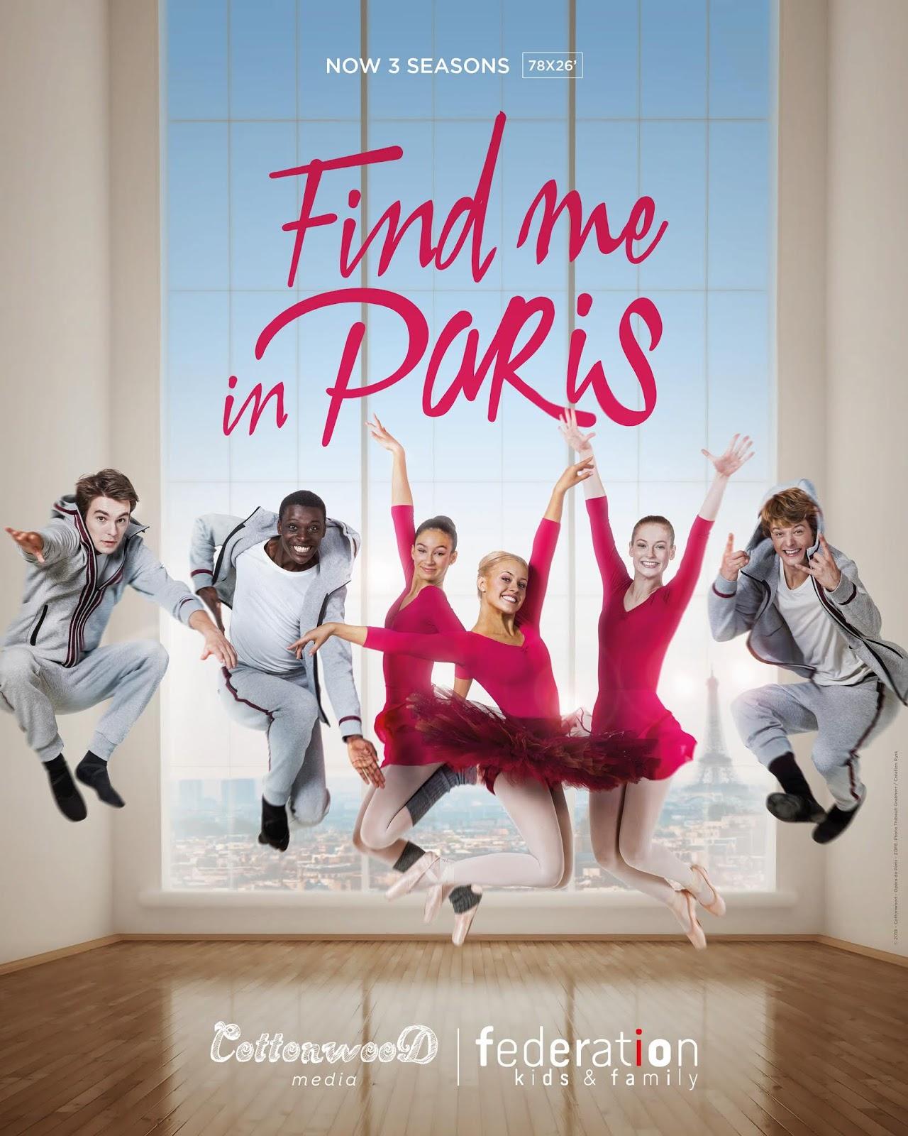 Nickelodeon Paris : nickelodeon, paris, NickALive!:, Nickelodeon, Premieres, 'Find, Paris', Season