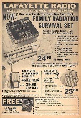Lafayette Radio - Family radiation survival set