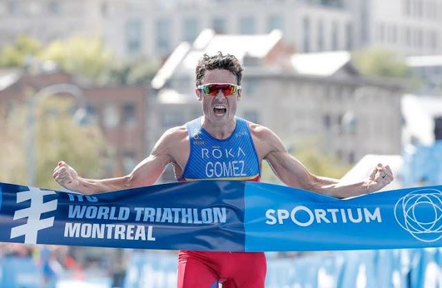 Javier Gómez Noya vence en Montreal