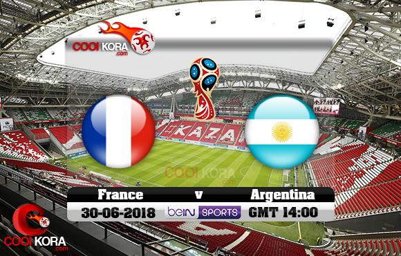 مشاهدة مباراة فرنسا والأرجنتين اليوم 30-6-2018 بي أن ماكس كأس العالم 2018