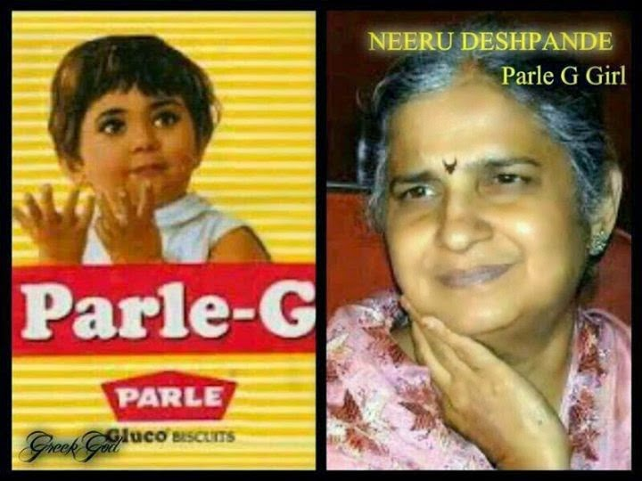 Parle g girl now turned 65