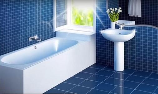 Do not carelessly use ceramics in the bathroom