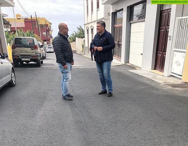 El Ayuntamiento de Los Llanos de Aridane culmina las obras de repavimentación y mejora del Camino de Triana