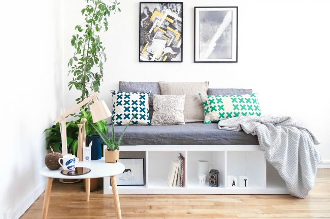4 usos diferentes para la estanter a kallax de ikea la garbatella dise o de interiores. Black Bedroom Furniture Sets. Home Design Ideas