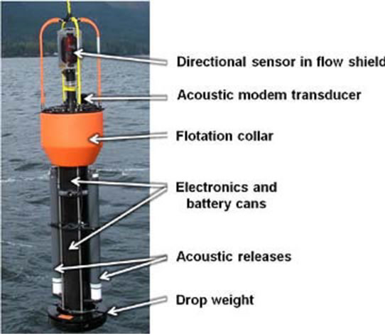 Figure 5. (b) A detailed diagram of an underwater acoustic sensor node;