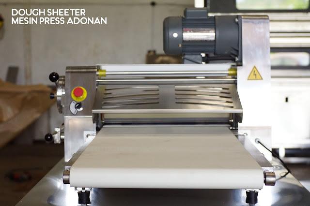 Jual dough Sheeter di Medan (Mesin Press Adonan)